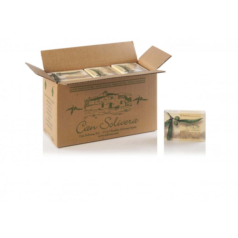 12 x Pure Olive Oil Solid Soap